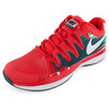 NIKE Men`s Zoom Vapor 9.5 Tour Clay Tennis Shoes Light Crimson