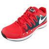 Men`s Zoom Vapor 9.5 Tour Tennis Shoes Light Crimson by NIKE