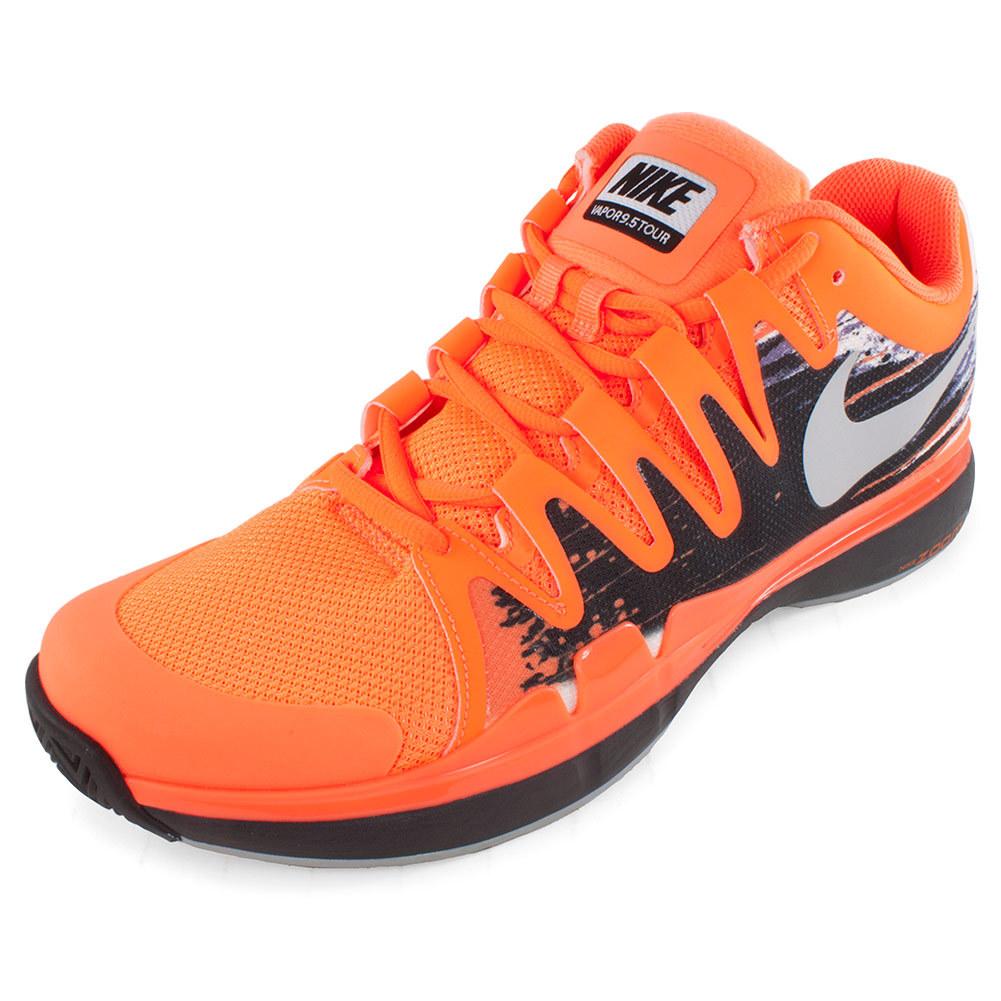 Men's Zoom Vapor 9.5 Tour Tennis Shoes Atomic Orange