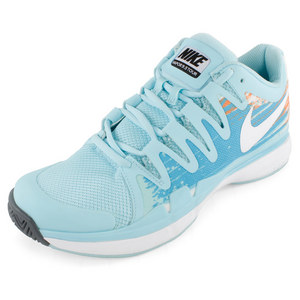 NIKE WOMENS ZOOM VAPR 9.5 TOUR SHOES GLAC ICE