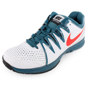 NIKE MENS VAPOR COURT TENNIS SHOES WH/NT FACT