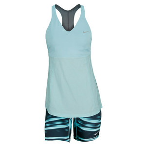 NIKE WOMENS PREMIER MARIA TUNIC DRESS GLAC IC