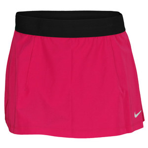 NIKE WOMENS SLAM TENNIS SKIRT BRIGHT MAGENTA