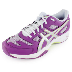 ASICS WOMENS GEL SOLUTION SLAM 2 SHOES GP/LTN