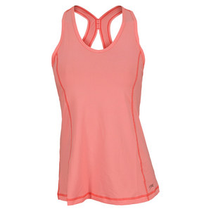 SOFIBELLA WOMENS ATHLETIC TENNIS TANKS SORBET