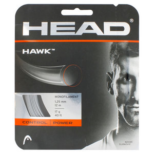 Hawk 17G Tennis String Platinum