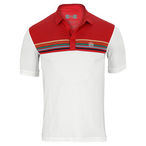 TRAVISMATHEW MENS TORINO TENNIS POLO PRISTINE