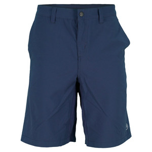 TRAVISMATHEW MENS DEPARTED TENNIS SHORT IRIS