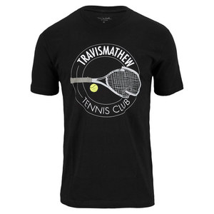 TRAVISMATHEW MENS TENNIS CLUB TEE BLACK
