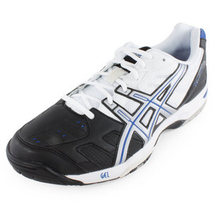 ASICS MENS GEL GAME 4 TENNIS SHOES ONYX/SILVER