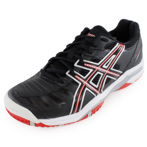 ASICS MENS GEL CHALLENGER 9 TENNIS SHOES BK/RD