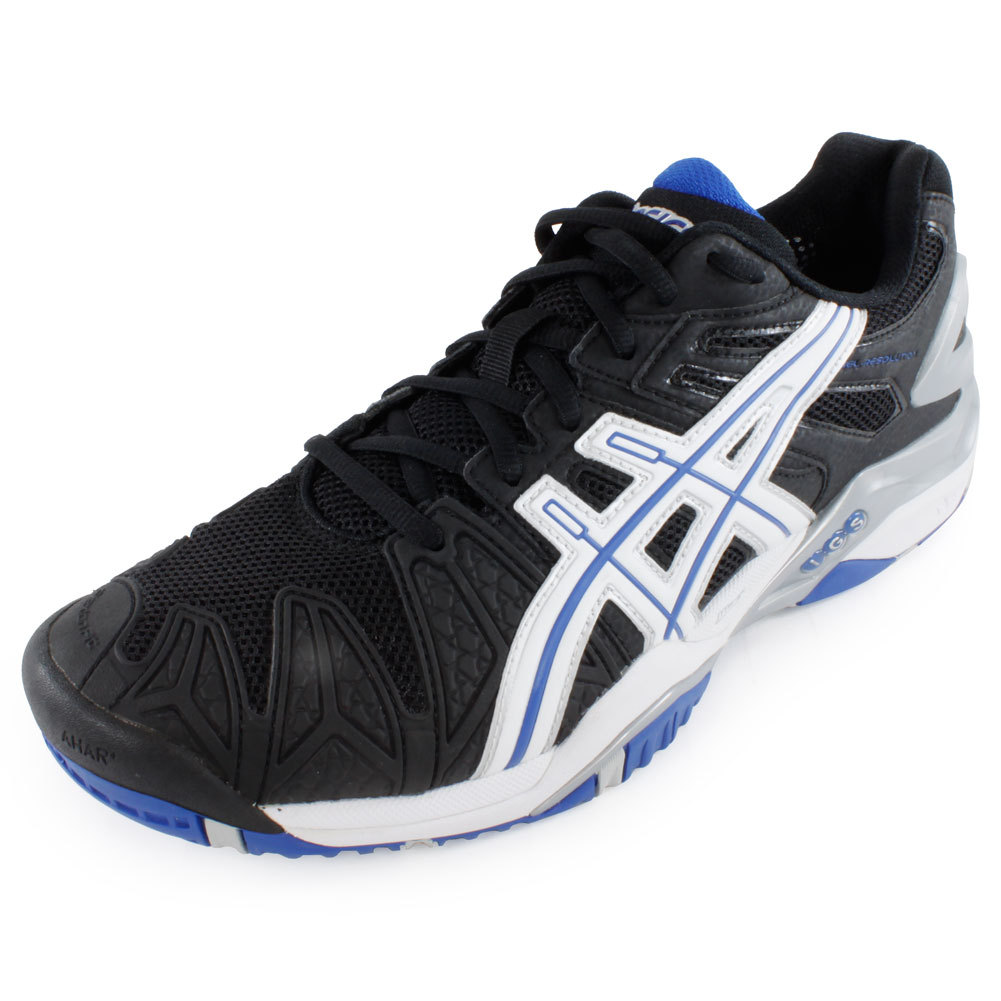 asics mens tennis shoe gel resolution 5