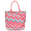 Sunset Chevron Tennis Tote by ALL FOR COLOR