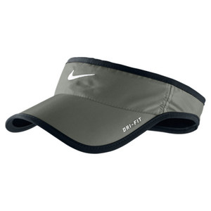 NIKE MENS FEATHERLIGHT VISOR DARK MICA GREEN