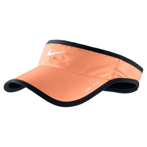 NIKE MENS FEATHERLIGHT VISOR ATOMIC ORANGE