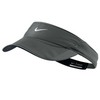 Women`s Featherlight Tennis Visor Dark Base Gray by NIKE