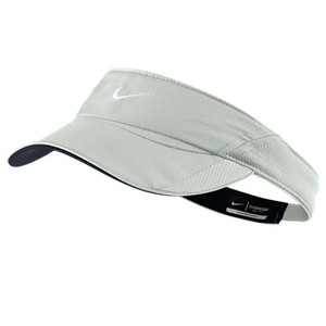 NIKE WOMENS FEATHERLIGHT VISOR LT BASE GRAY