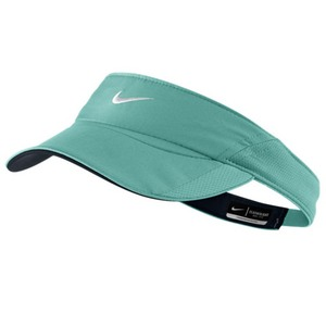 NIKE WOMENS FEATHERLIGHT VISOR DIFFUSED JADE