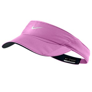 NIKE WOMENS FEATHERLIGHT VISOR RED VIOLET