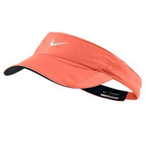 NIKE WOMENS FEATHERLIGHT VISOR TURF ORANGE