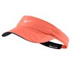 Women`s Featherlight Tennis Visor Turf Orange by NIKE