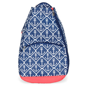 ALL FOR COLOR CLASSIC ANCHOR TENNIS BACKPACK