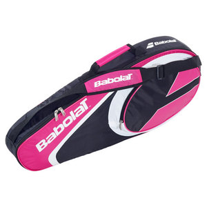 BABOLAT CLUB LINE 3 PACK TENNIS BAG PINK