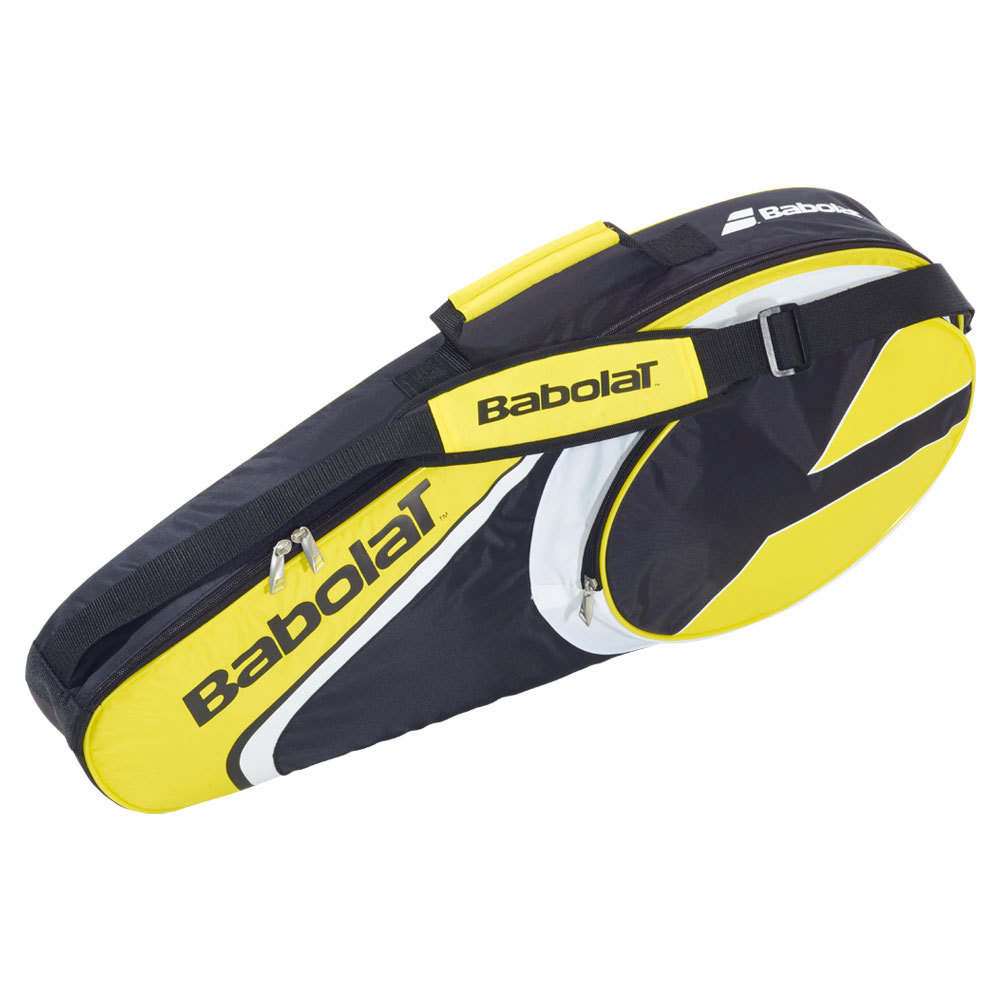 Club Line 3 Pack Tennis Bag Yellow