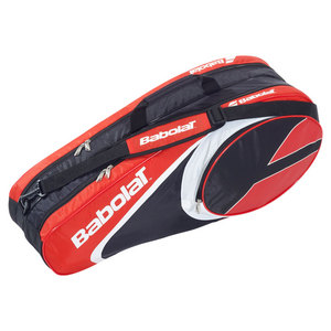 BABOLAT CLUB LINE 6 PACK TENNIS BAG RED
