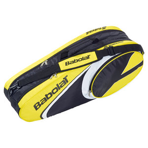 BABOLAT 2014 CLUB LINE 6 PACK TENNIS BAG YELLOW