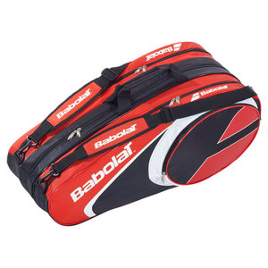 BABOLAT CLUB LINE 12 PACK TENNIS BAG RED