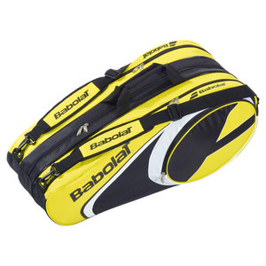 BABOLAT 2014 CLUB LINE 12 PACK TENNIS BAG YELLOW