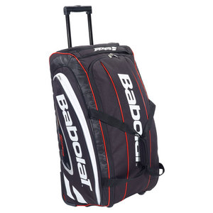 BABOLAT TEAM TENNIS TRAVEL BAG BLACK/RED