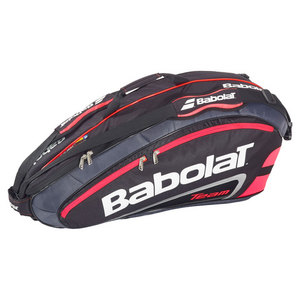 BABOLAT TEAM 6 PACK RACQUET HOLDER BRIGHT RED