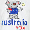 Australian Koala Bear Tennis Unisex Tee White by NO SHOW