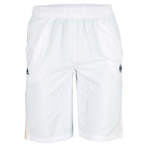 adidas BOYS RG ON COURT BERMUDA SHORT WHITE