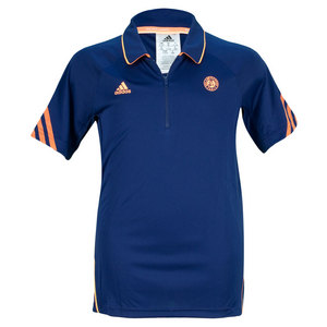 adidas BOYS RG ON COURT TENNIS POLO NIGHT BLUE