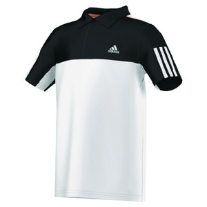 adidas BOYS RESPONSE POLO WHITE/BLACK