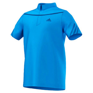 adidas BOYS ADIZERO TENNIS POLO SOLAR BLUE
