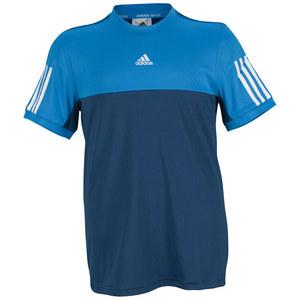 adidas BOYS RESPONSE TEE TRIBE BLUE/SOLAR BLUE