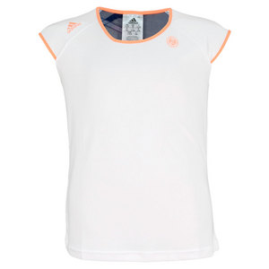 adidas GIRLS RG TENNIS CAP SLEEVE WHITE