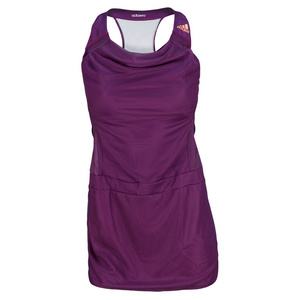 adidas GIRLS ADIZERO TENNIS DRESS TRIBE PURPLE