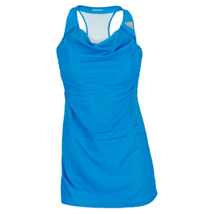 adidas GIRLS ADIZERO TENNIS DRESS SOLAR BLUE