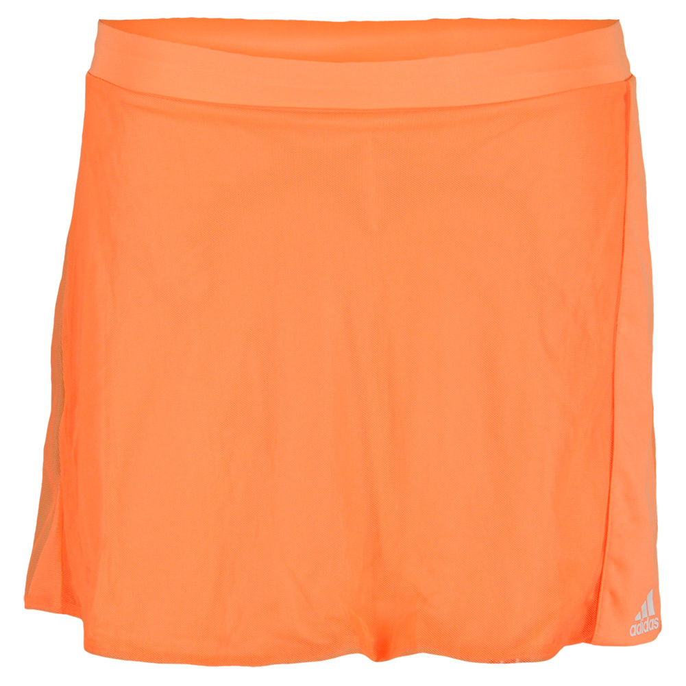 Girls ` Adizero Tennis Skort Glow Orange