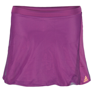 adidas GIRLS ADIZERO TENNIS SKORT TRIBE PURPLE