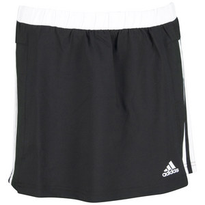 adidas GIRLS RESPONSE TENNIS SKORT BLACK/WHITE
