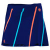 ADIDAS Girls` Roland Garros Ball Girl Tennis Skort Night Blue