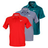 Boys` NET UV Short Sleeve Tennis Polo by NIKE