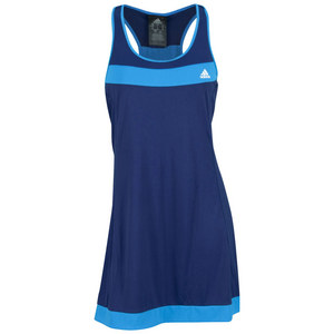 adidas WOMENS GALAXY DRESS NT BLUE/SOLAR BLUE