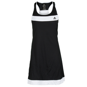 adidas WOMENS GALAXY DRESS NT BLACK/WHITE